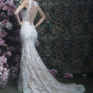 Allure Couture Wedding Bridal Dress style c401